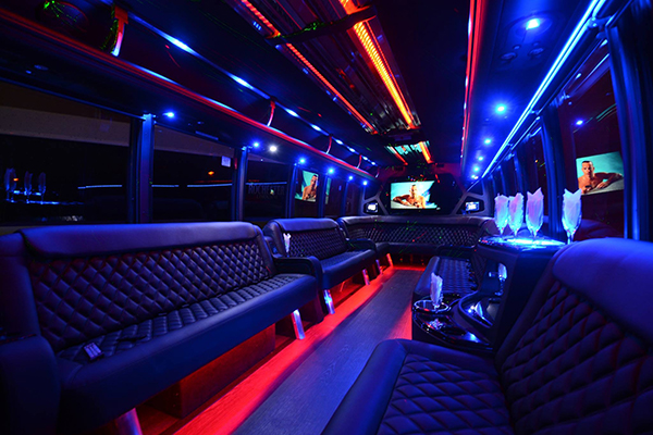 40 passenger party bus rental Meriden