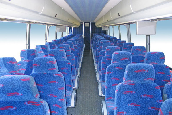50 person charter bus rental Meriden